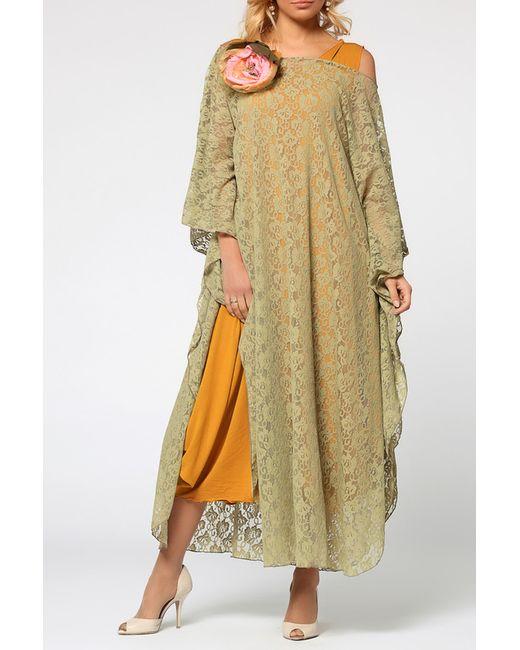 Kata Binska | Женское Бежевое Платье