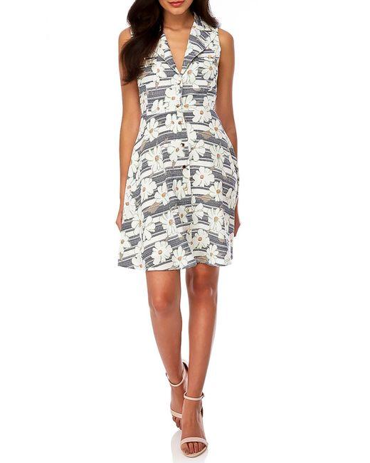 Yumi | Женское Бежевое Платье