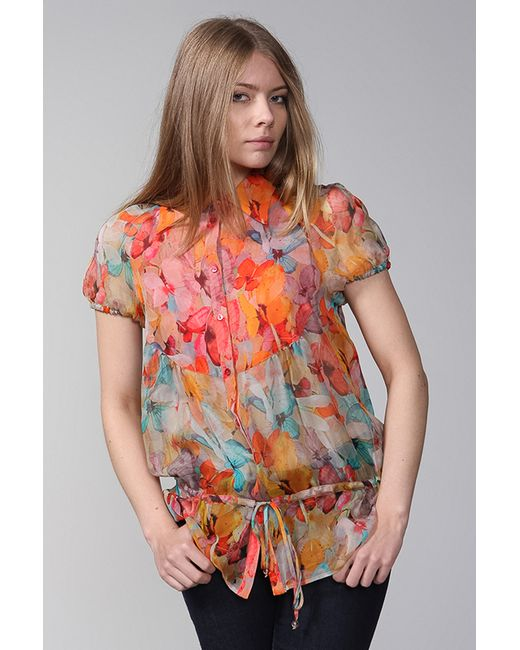 Blugirl   Женская Многоцветная Блуза