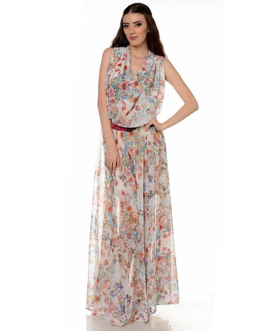 Mashenka By J.A. | Женское Многоцветное Платье