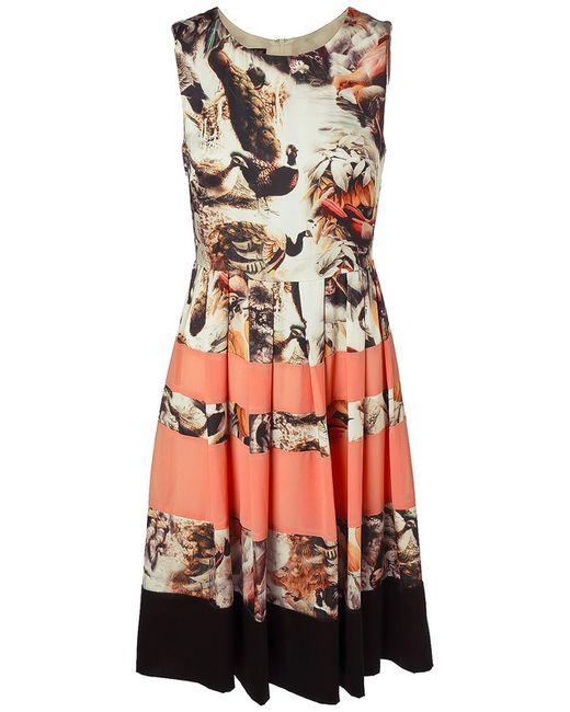 Apart | Женское Многоцветное Платье