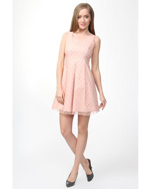 Pois | Женское Розовое Платье