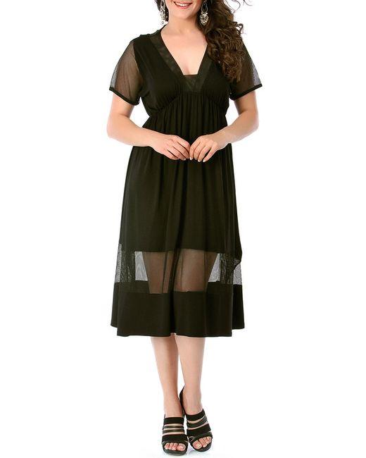 VALERIA FRATTA | Женское Чёрное Платье