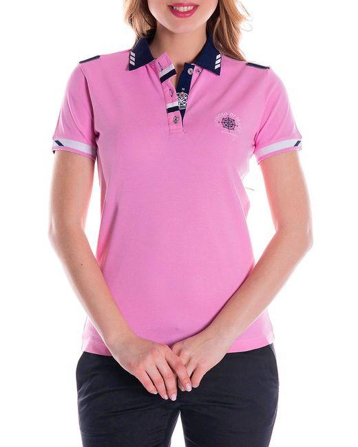 Giorgio Di Mare   Женская Розовая Футболка-Поло