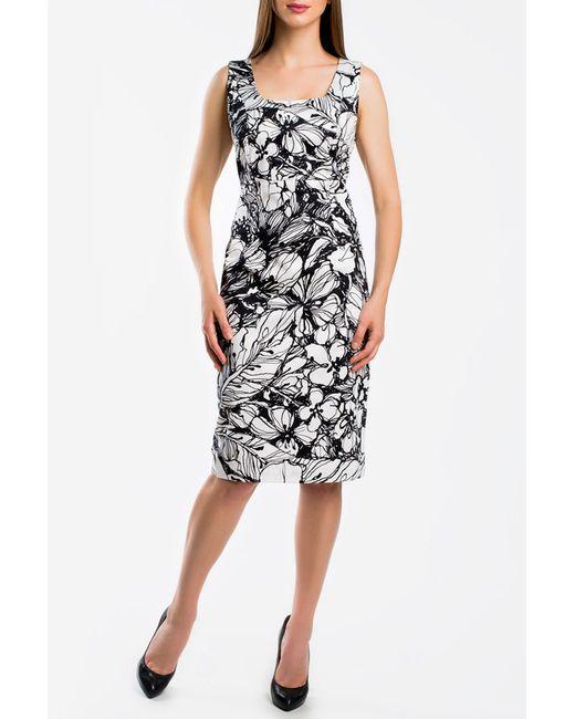 Monamod | Женское Чёрное Платье