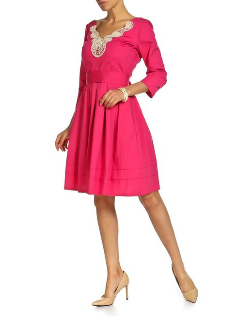 Beatrice. B | Женское Розовое Платье