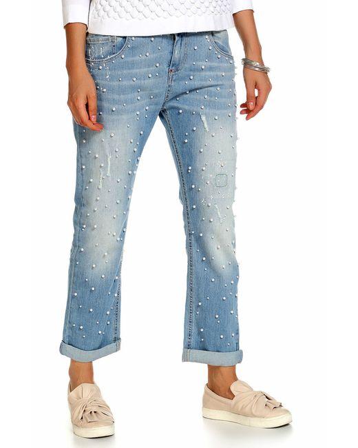 Twin-Set Jeans   Женские Синие Джинсы