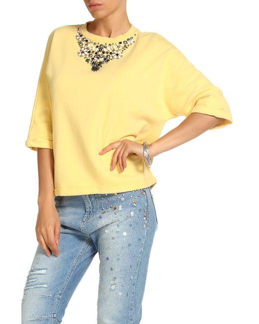 Twin-Set Jeans | Женская Жёлтая Кофта