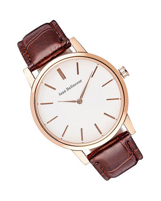 JEAN BELLECOUR   Мужские Коричневые Часы