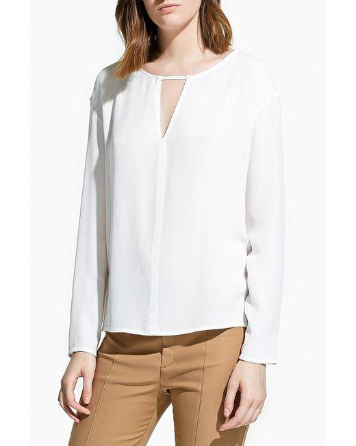 Mango   Женская Белая Блуза