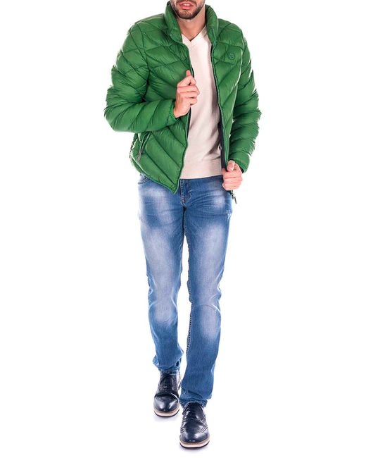 Giorgio Di Mare   Мужская Зелёная Куртка