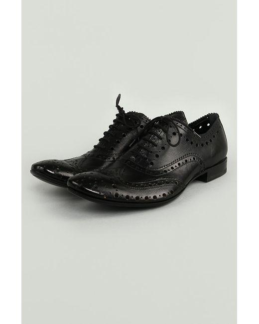 Gianni Barbato | Мужские Чёрные Туфли