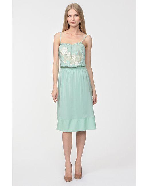 Athe Vanessa Bruno | Женское Зелёное Платье