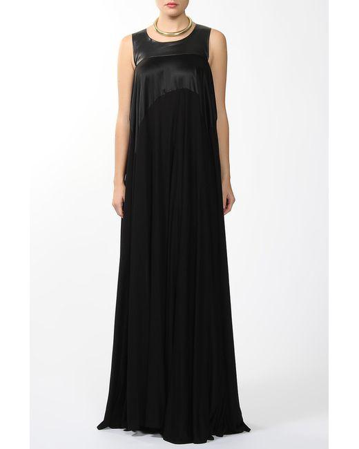 Maison Margiela | Женское Чёрное Платье