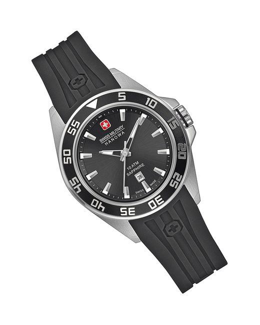 Swiss Military   Женские Чёрные Наручные Часы