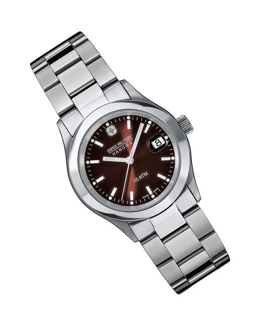 Swiss Military   Мужские Серебряные Наручные Часы