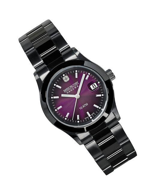 Swiss Military | Мужские Фиолетовые Наручные Часы