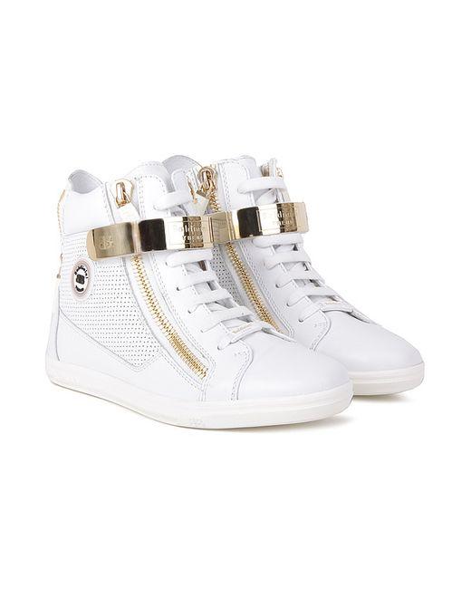 Baldinini | Женские Белые Ботинки
