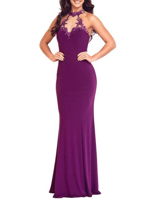 DYNASTY SPIRIT | Женское Dark Lilac Evening Dress