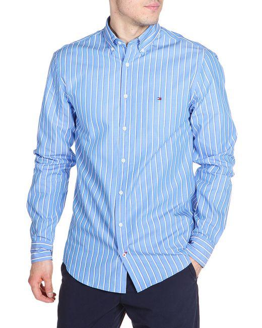 Tommy Hilfiger | Мужская Синяя Рубашка