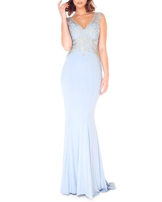 DYNASTY SPIRIT | Женское Синее Вечернее Платье