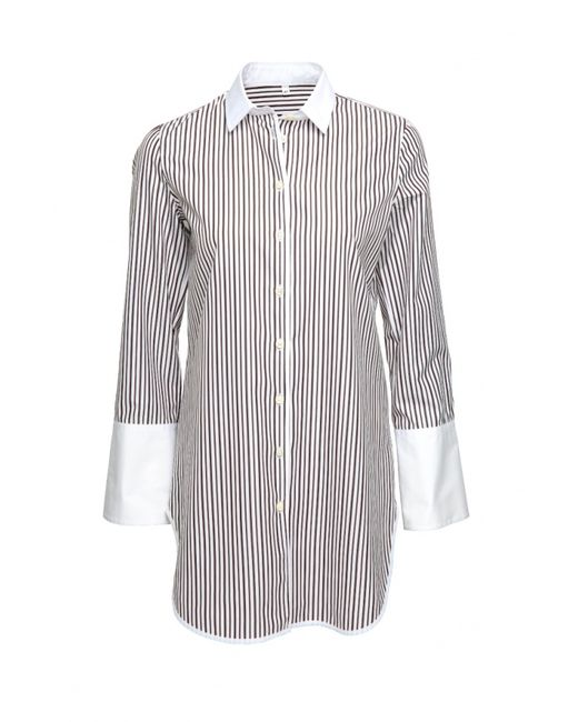 Colletto Bianco   Женская Белая Рубашка