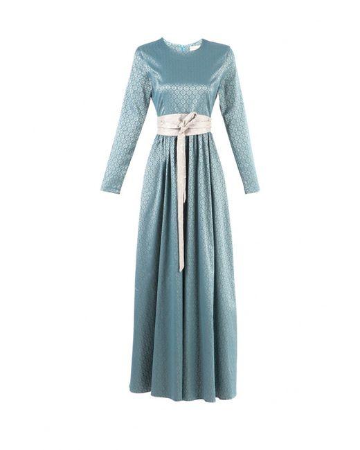 Bella Kareema | Женское Голубое Платье