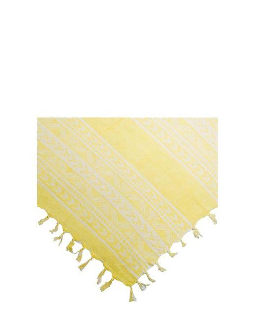 Mango | Женский Жёлтый Шарф