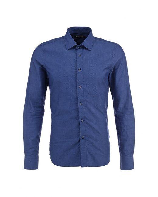 Guess by Marciano | Мужская Синяя Рубашка