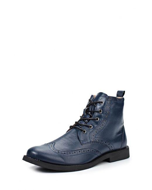 McCrain   Мужские Синие Ботинки