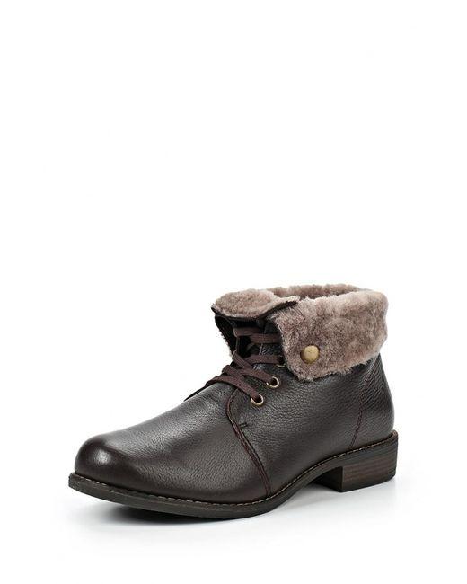 Caprice | Женские Коричневые Ботинки
