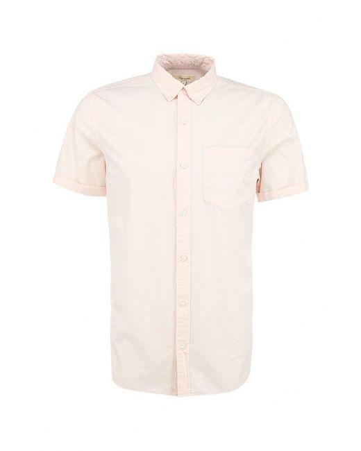 River Island   Мужская Розовая Рубашка