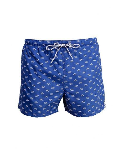 Springfield | Мужские Синие Шорты Для Плавания
