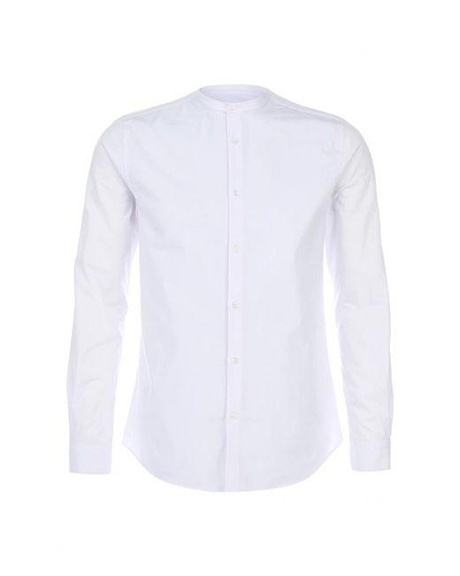 Burton Menswear London   Мужская Белая Рубашка