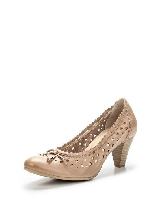 Caprice | Женские Бежевые Туфли