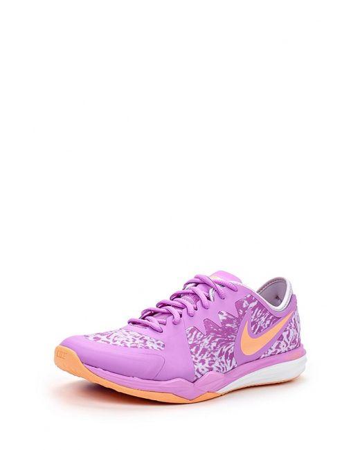 Nike | Женские Фиолетовые Кроссовки