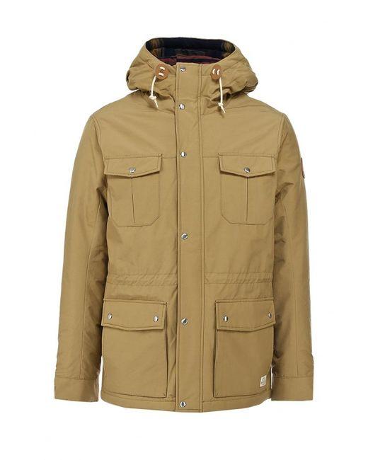 Quiksilver | Мужская Бежевая Куртка Утепленная