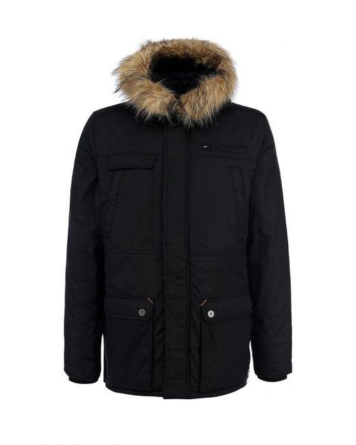 Blend | Мужская Чёрная Куртка Утепленная