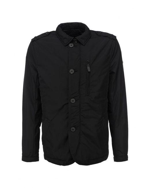 Finn Flare | Мужская Чёрная Куртка Утепленная