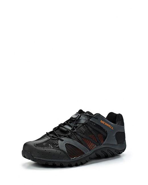 Merrell   Мужские Чёрные Ботинки