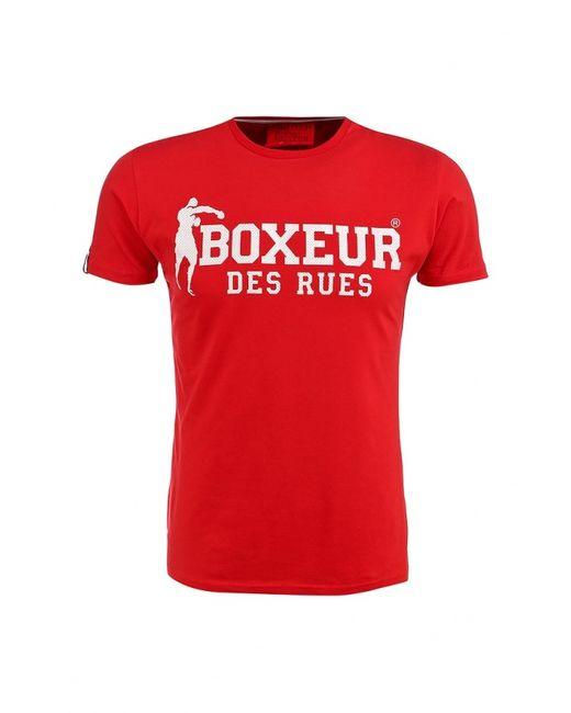 Boxeur Des Rues | Мужская Красная Футболка