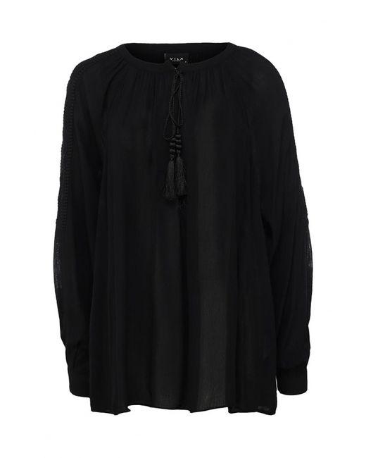 Vila | Женская Чёрная Блуза