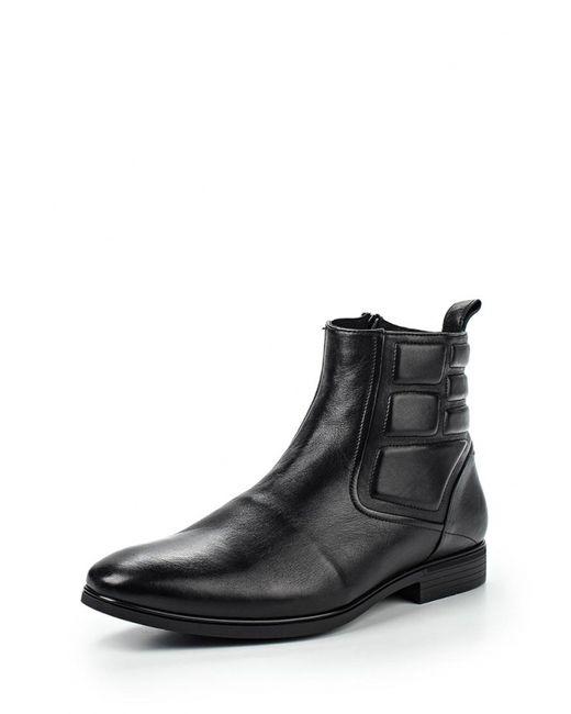 Conhpol | Мужские Чёрные Ботинки
