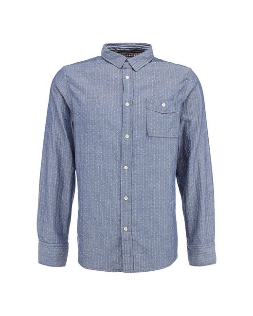 Brave Soul   Мужская Голуба Рубашка