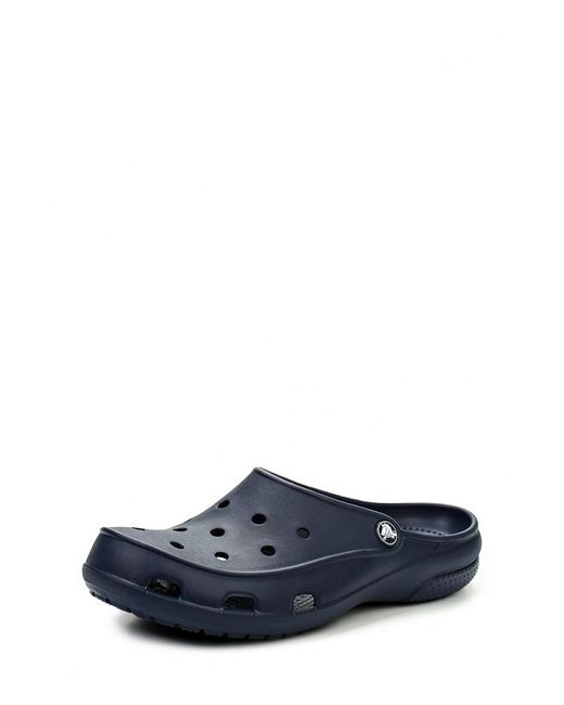 Crocs | Женское Синее Сабо