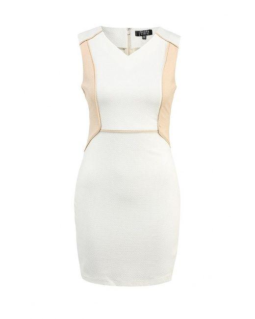 Zalora   Женское Белое Платье