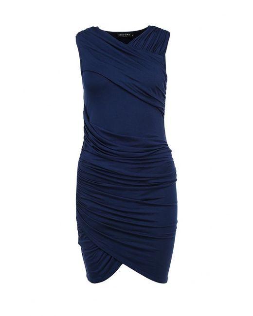 Zalora | Женское Синее Платье