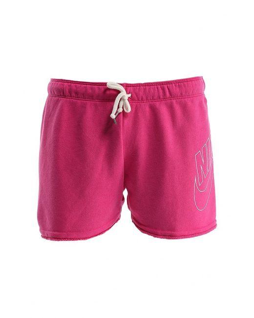 Nike   Мужские Розовые Шорты