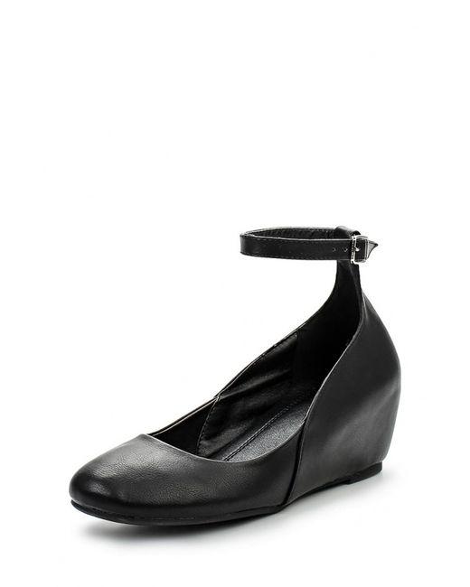 Flyfor | Женские Чёрные Туфли