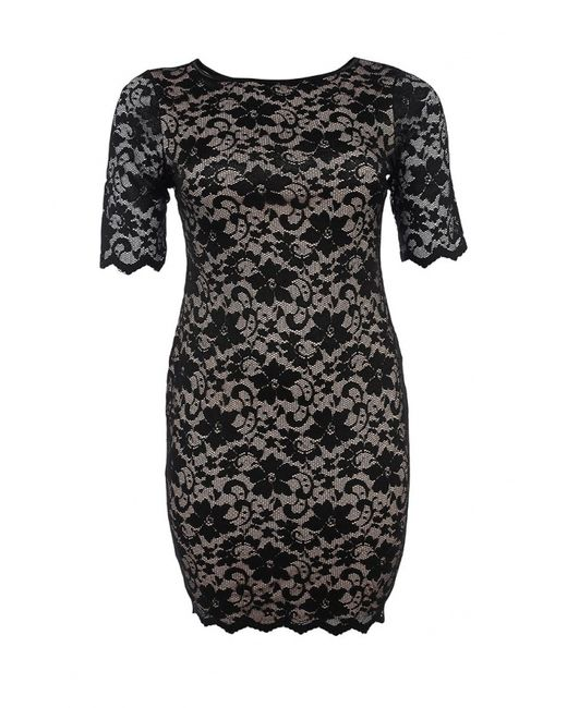 Goddiva Size Plus | Женское Многоцветное Платье